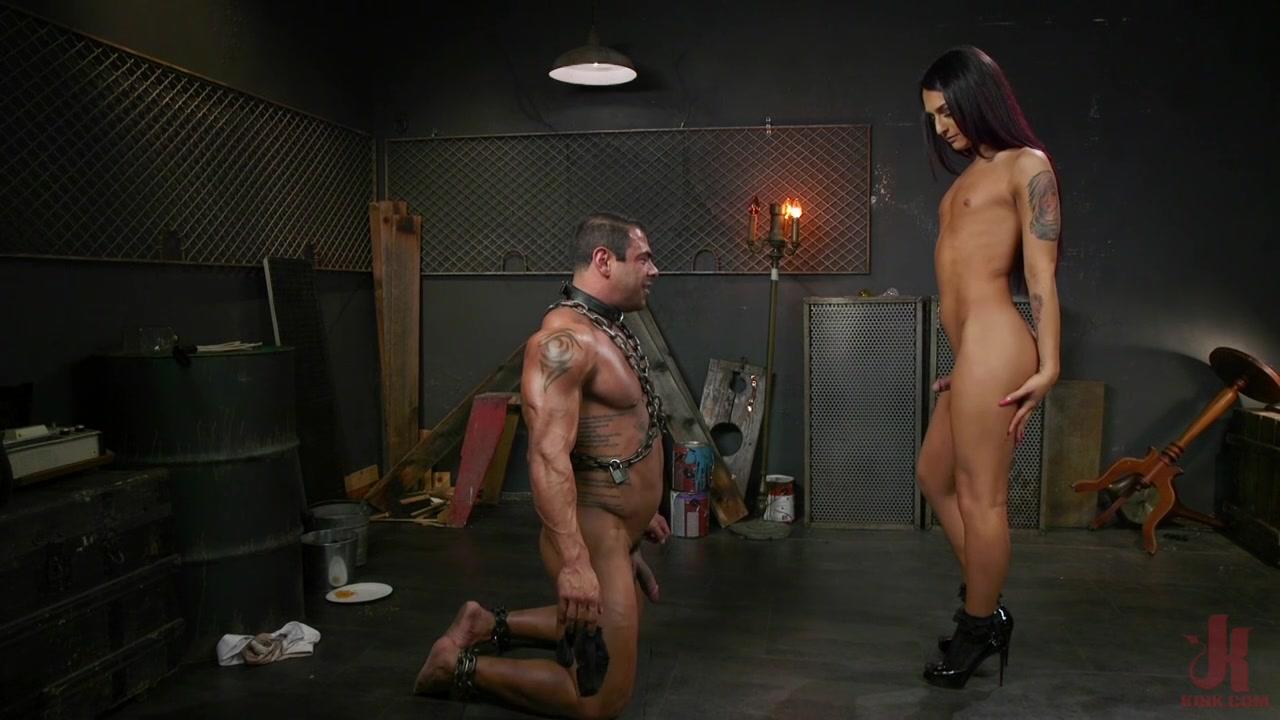 Bdsm Bondage And Hard Fucking A Slave With Shemale Khloe -2462